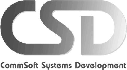 CommSoft� Systems Development Logo